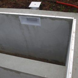 construction d'une pisicne- Emplacement du volet électrique