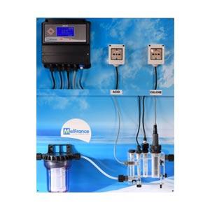 Système de filtration et d'analyse de l'eau