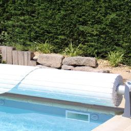 Volet piscine automatique enroulable