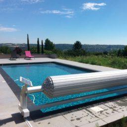 Volet piscine automatique et solaire